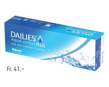 Boite de lentilles de contact Dailies AquaComfort PLUS à 30 pièces